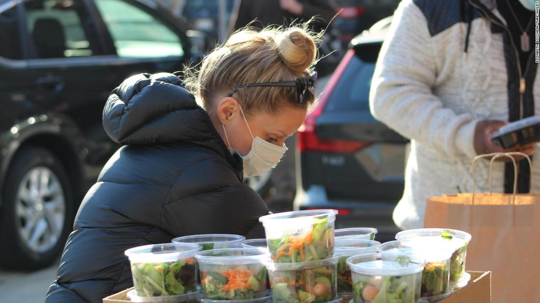 A couple cancels their wedding -- but uses the $5,000 catering deposit to feed people in need