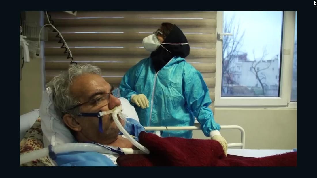 Inside a Tehran hospital facing Iran's biggest Covid-19 surge