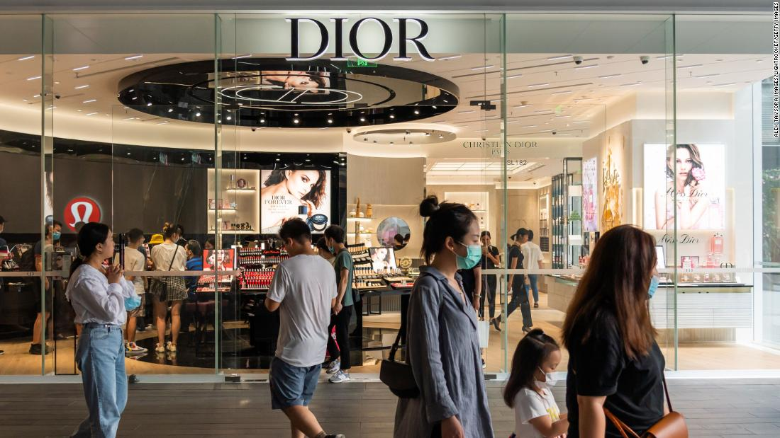 China's luxury market boomed this year, even as global sales shrank