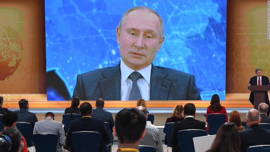 Putin says if Russia wanted to kill Navalny, it would have 'finished' the job