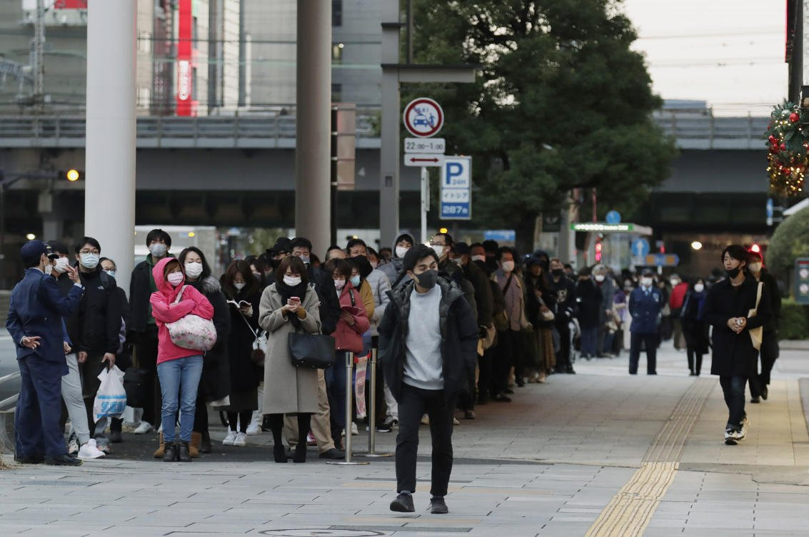 Tokyo's daily coronavirus infections top 600 for first time
