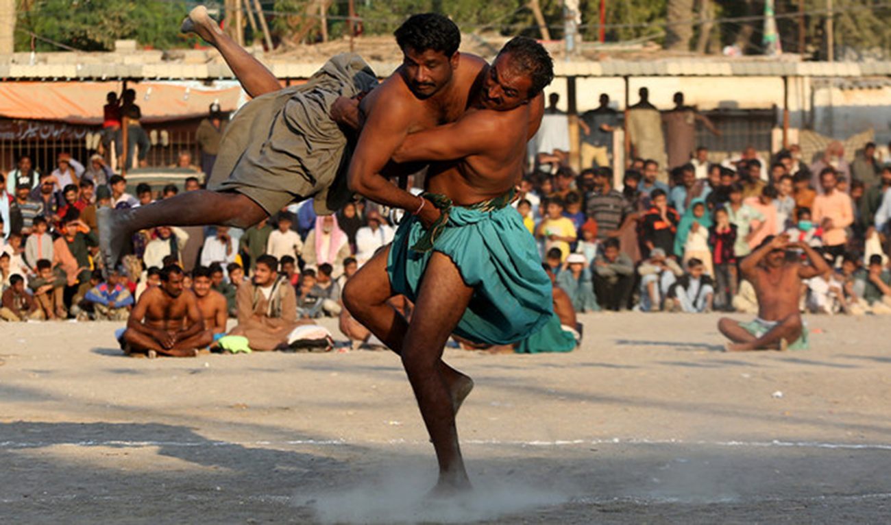 Pakistan's ancient form of wrestling threatened by 'obsession for cricket'