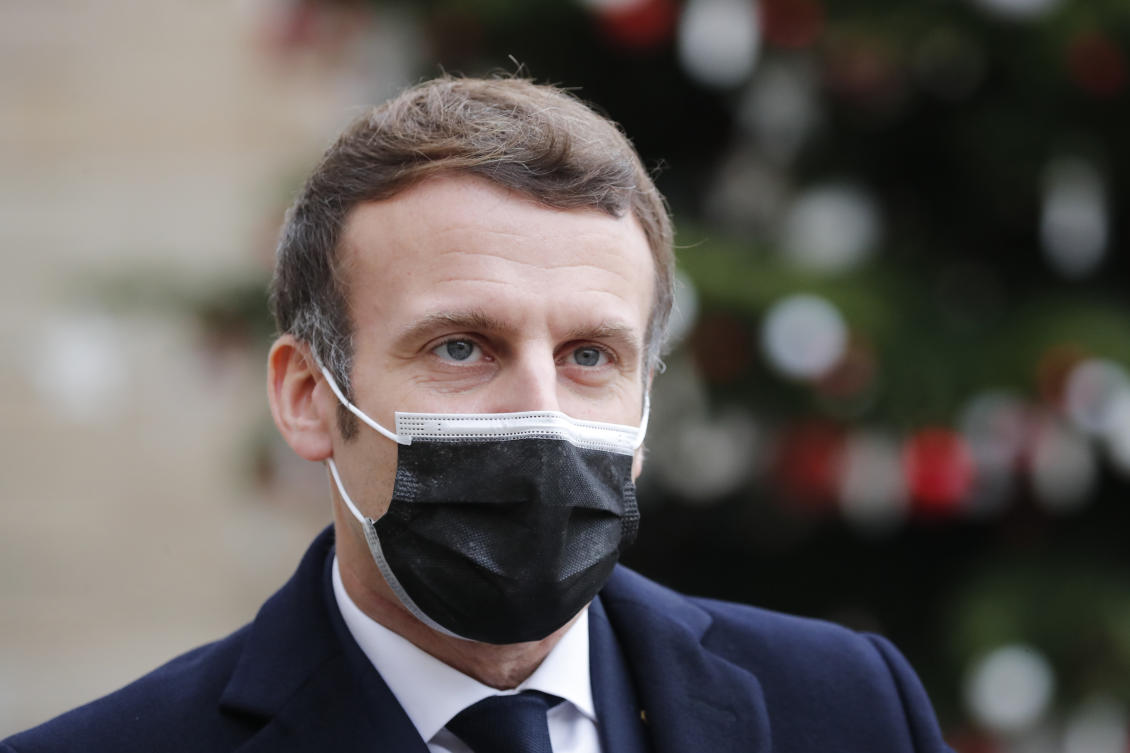 France's Macron has tested positive for COVID-19