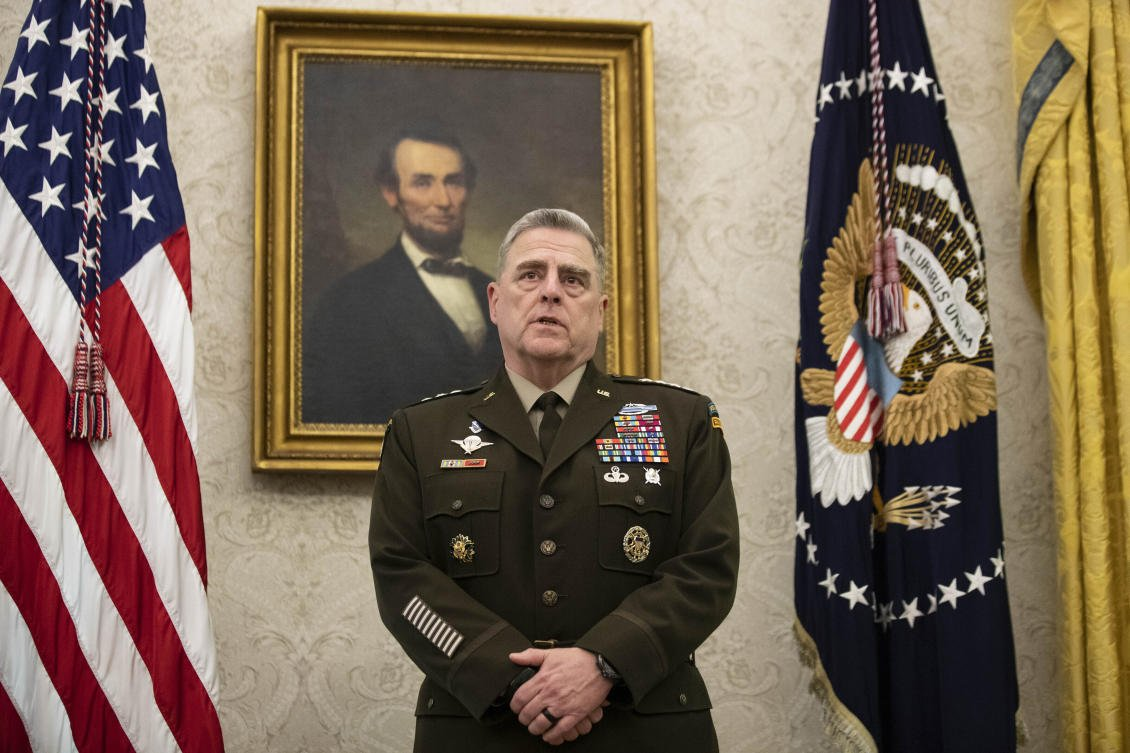 US Joint Chiefs chairman meets with Taliban on peace talks