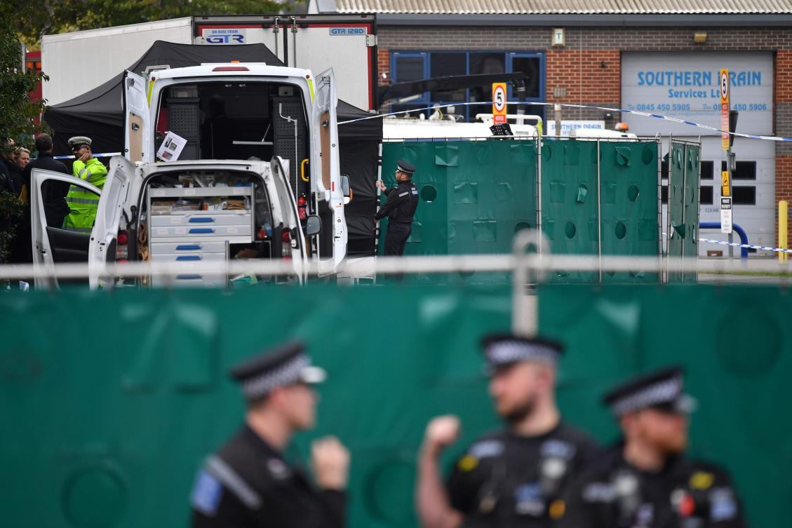 Two guilty in UK over Vietnamese migrant deaths