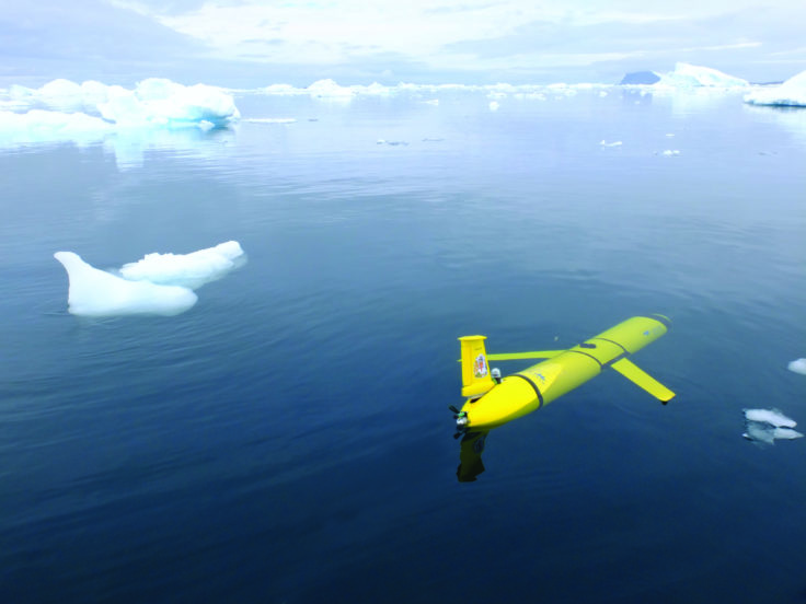 The UK is sending robot submarines to watch the world's largest iceberg crash into an island