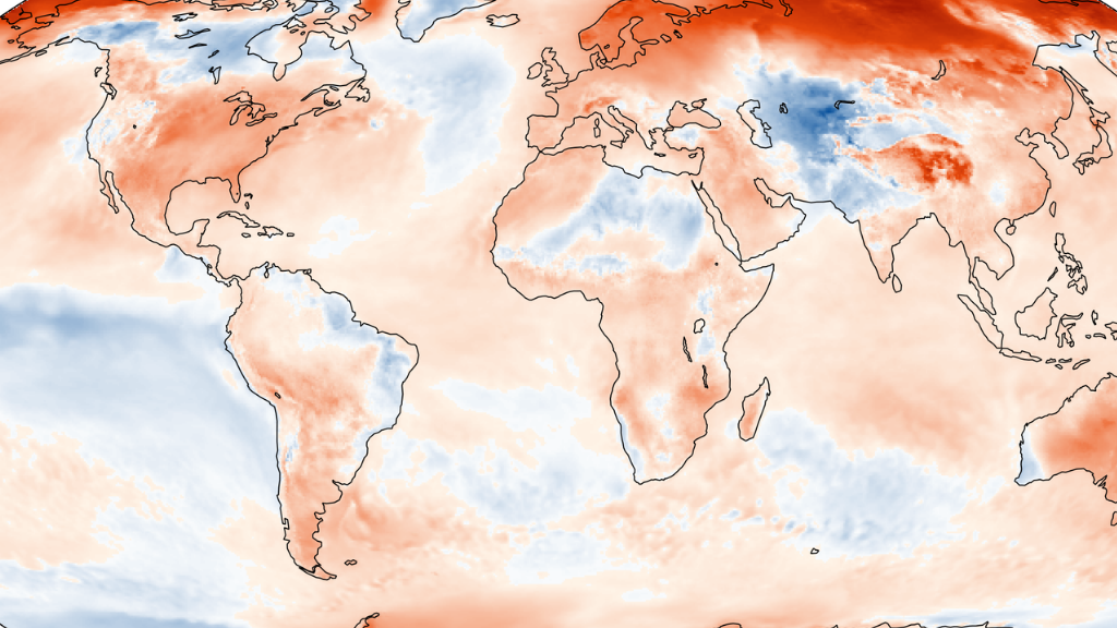 Toasty November means 2020 might nudge out 2016 as hottest year on record