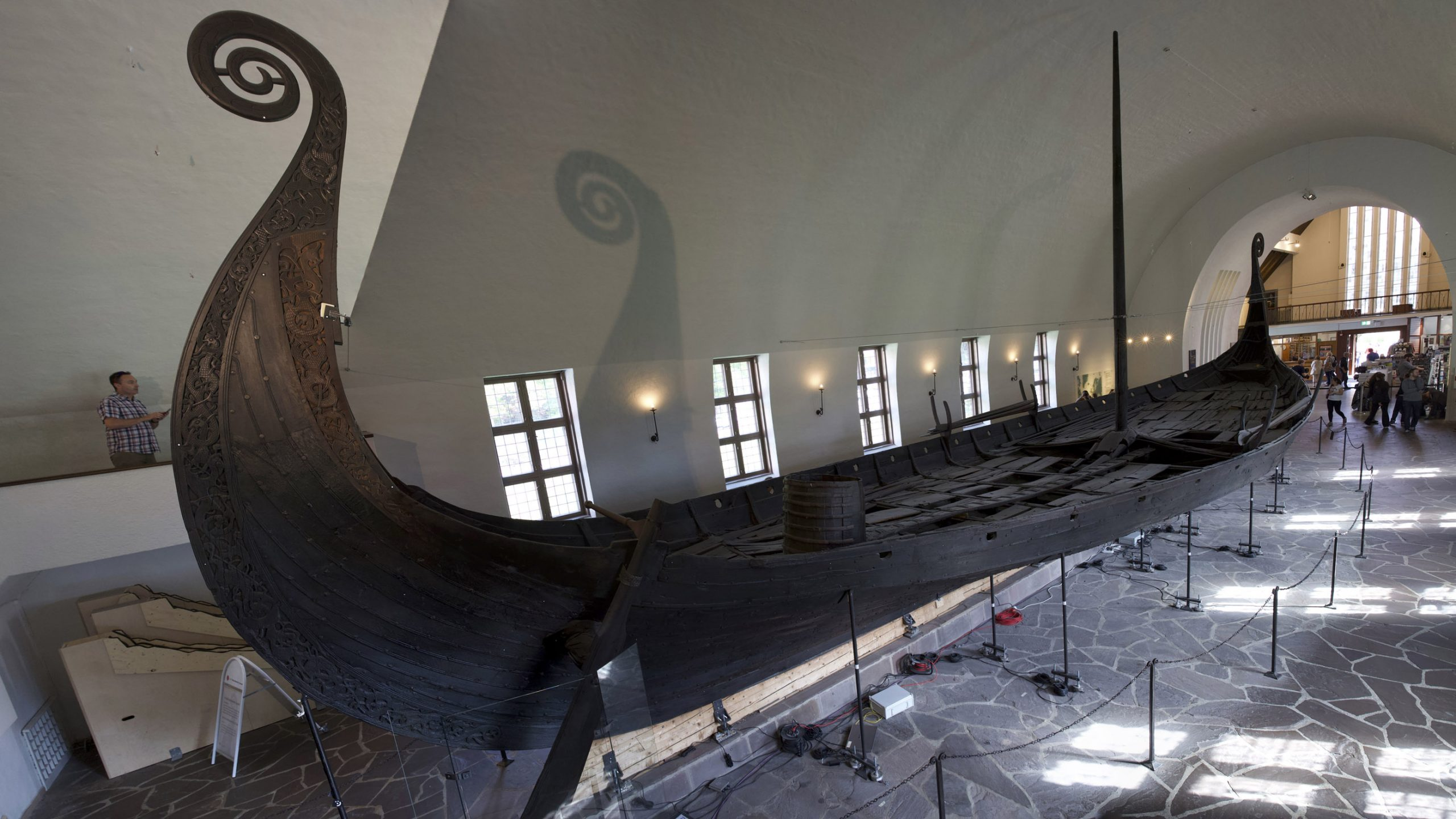 Elaborate Viking ship burial may have held a king or queen
