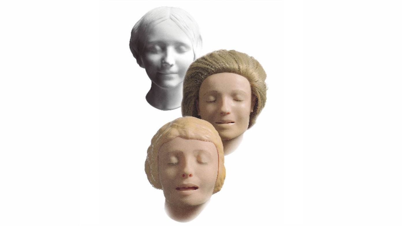 How a girl's 'death mask' from the 1800s became the face of CPR dolls
