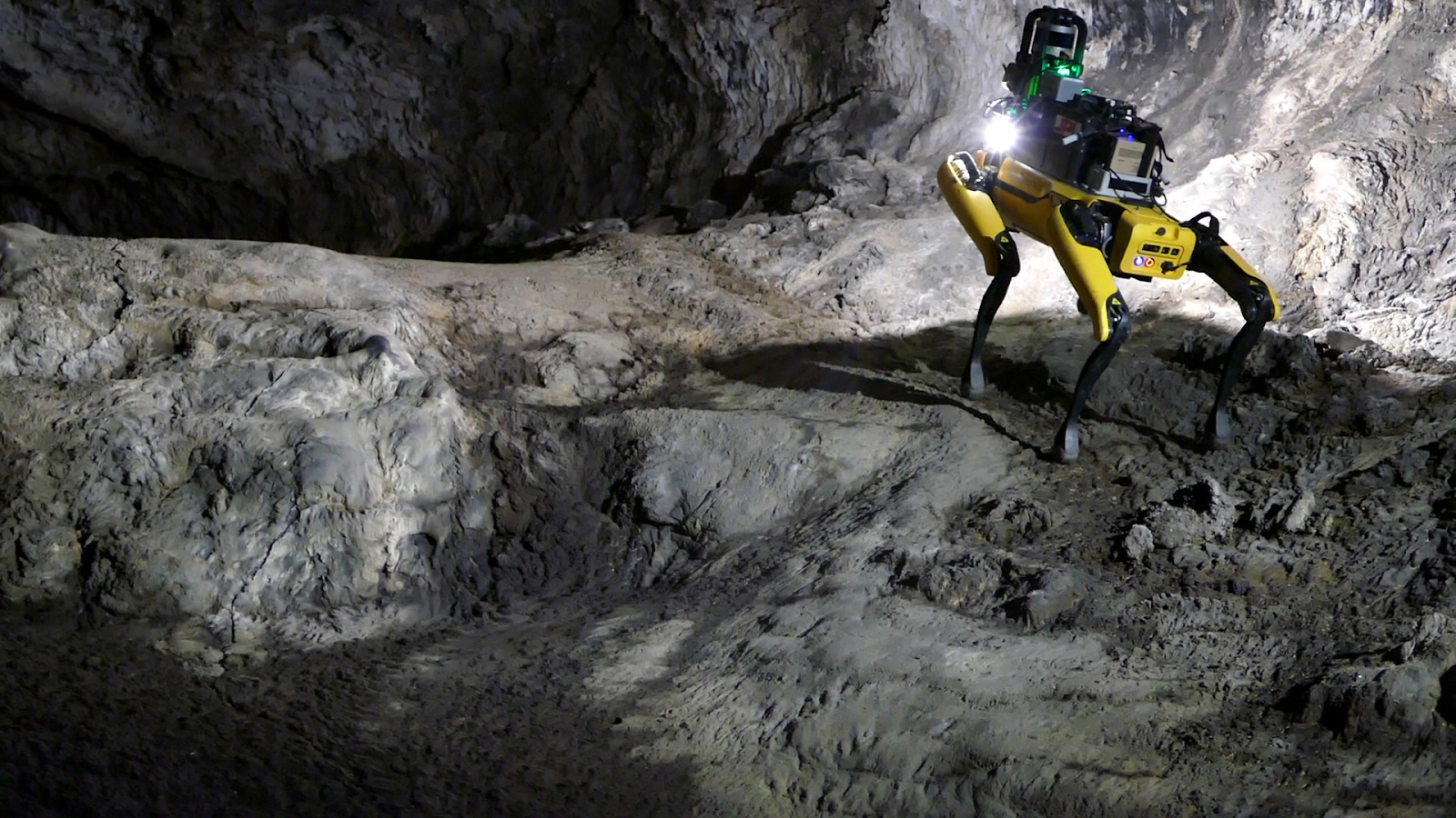 Robot dogs could someday explore deep caves on Mars
