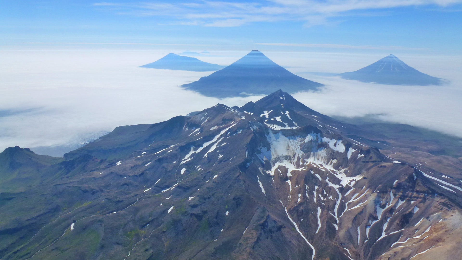 Chain of Alaskan islands might really be one monster volcano