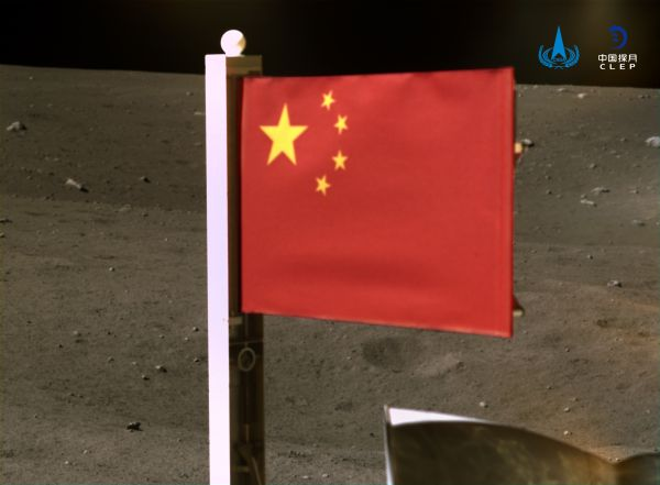 China plants its flag on the moon with Chang'e 5 lunar lander (photo, video)