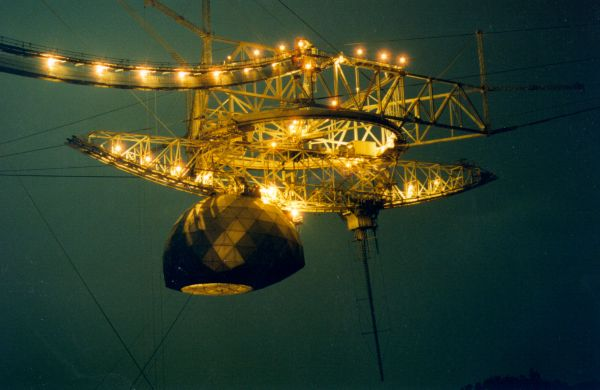 Puerto Rican scientists mourn loss of Arecibo Observatory's iconic telescope