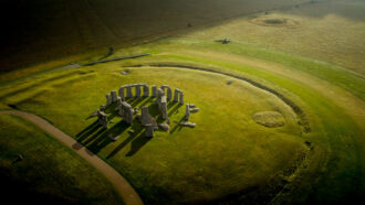 Stonehenge may have had roots in a Welsh stone circle