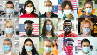 Making masks fit better can reduce coronavirus exposure by 96 percent