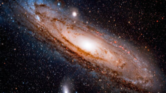 Andromeda's and the Milky Way's black holes will collide. Here's how it may play out