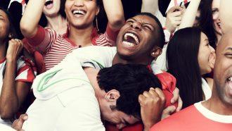 Surprisingly, humans recognize joyful screams faster than fearful screams