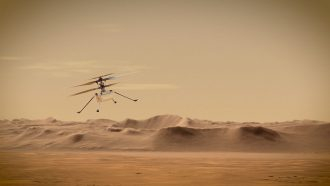 NASA's Ingenuity helicopter made history by flying on Mars