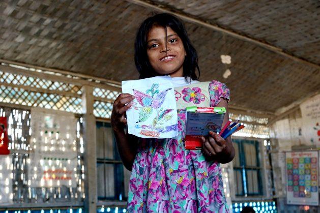 Rohingya Children Find Refuge in Education
