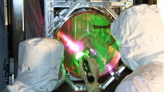 Physicists used LIGO's mirrors to approach a quantum limit