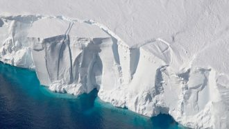 Collapse may not always be inevitable for marine ice cliffs