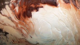 Lakes of liquid water at Mars' southern ice cap may just be mirages