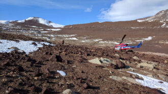 Missing Antarctic microbes raise thorny questions about the search for aliens