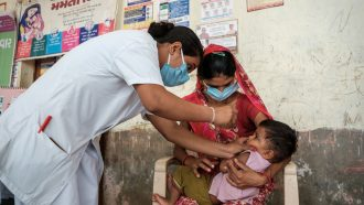 Millions of kids have missed routine vaccines thanks to COVID-19