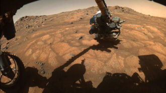 NASA's Perseverance Mars rover has begun its first science campaign