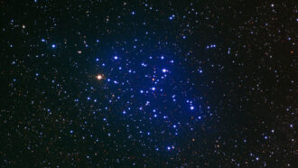 How do scientists calculate the age of a star?