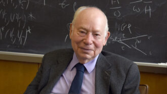 With Steven Weinberg's death, physics loses a titan