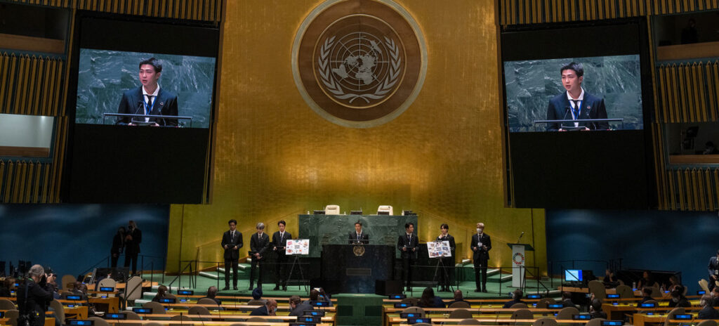 World leaders, BTS, join Guterres in call to get SDGs back on track