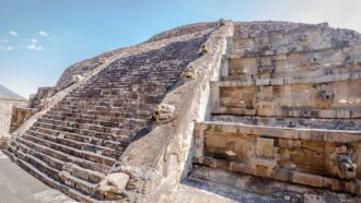 Lasers reveal construction inspired by ancient Mexican pyramids in Maya ruins
